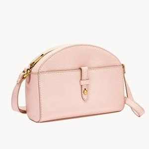 🌼 NWT Fossil pink leather crossbody bag